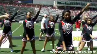 Cute Cheerleading Band Dance - Lakota High School