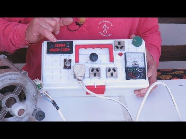 Banco De Pruebas Portatil Y Casero Portable And Home Test Bench Youtube