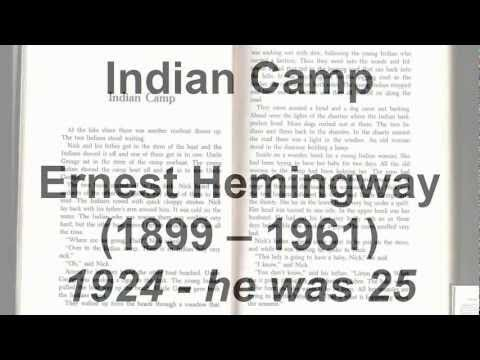 """""""Indian Camp"""" by Ernest Hemingway (read by Tom O'Bedlam)"""