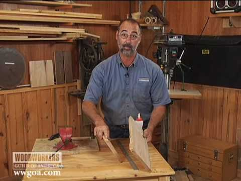 Woodworking Tips & Techniques: Joinery - Strength of Glue Joints