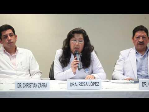 Médicos Hospital Almenara de EsSalud en conferencia de prensa explican caso Shirley Meléndez