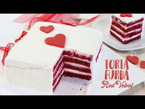 TORTA FURBA RED VELVET ricetta facile - Red Velvet Cake  Speciale per San Valentino di Benedetta