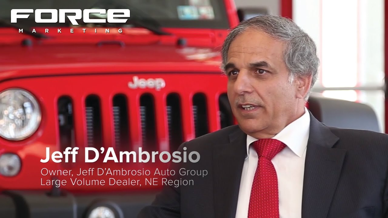 Jeff D Ambrosio Talks 10 Year Partnership With Force Marketing Youtube