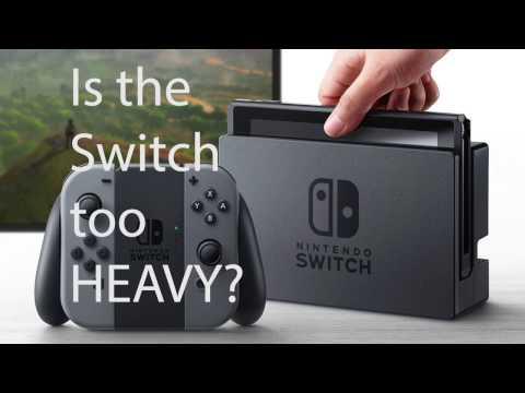 Weight of nintendo switch box
