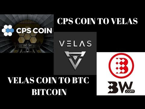 How To Convert CPS Coin To VELAS  AND SELL VLX COIN TO BITCOIN|COINPAYMENTS Part#2