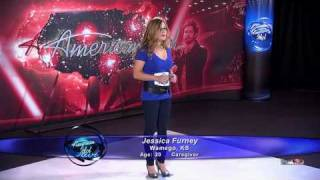 Jessica Furney Audition - Footprints In The Sand HD