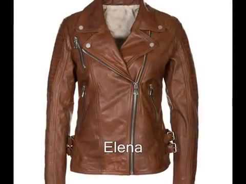 Biker Leather Jackets for Women - U.K Leather Jackets - Ladies ...