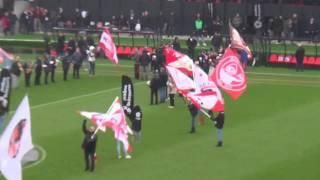 RAFC - Roeselare (finale): sfeer voor de match