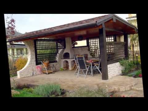 видео: Своя беседка на даче  Такие беседки строят наши дачники