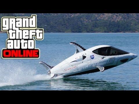 GTA 5 Online Super Speed Dolphin Boat, Real Life Jobs, My Best Car (GTA V DLC Ideas) #8