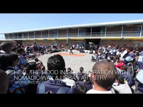 Arts Exchange: South Africa & USA (Heal the Hood at a school in the Cape Flats)