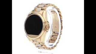 68e4d09da Relógio Michael Kors Access Touch Screen Digital Dourado cravejado MKT5002  by Emanuel Insta moneyuel