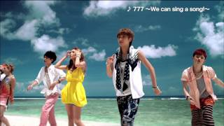 AAA / 7th ALBUM「777 ~TRIPLE SEVEN~」(2012.8.22 on sale)TV-SPOT 30sec