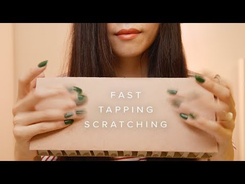 ASMR Fast Cardboard and Paper Sounds ( No Talking)