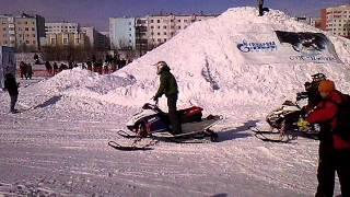 Снегоходный фристайл Новый Уренгой