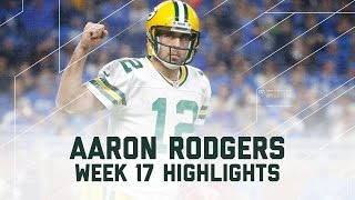 Aaron Rodgers' Magical 300-Yard, 4 TD Victory! | NFL Week 17 Player Highlights