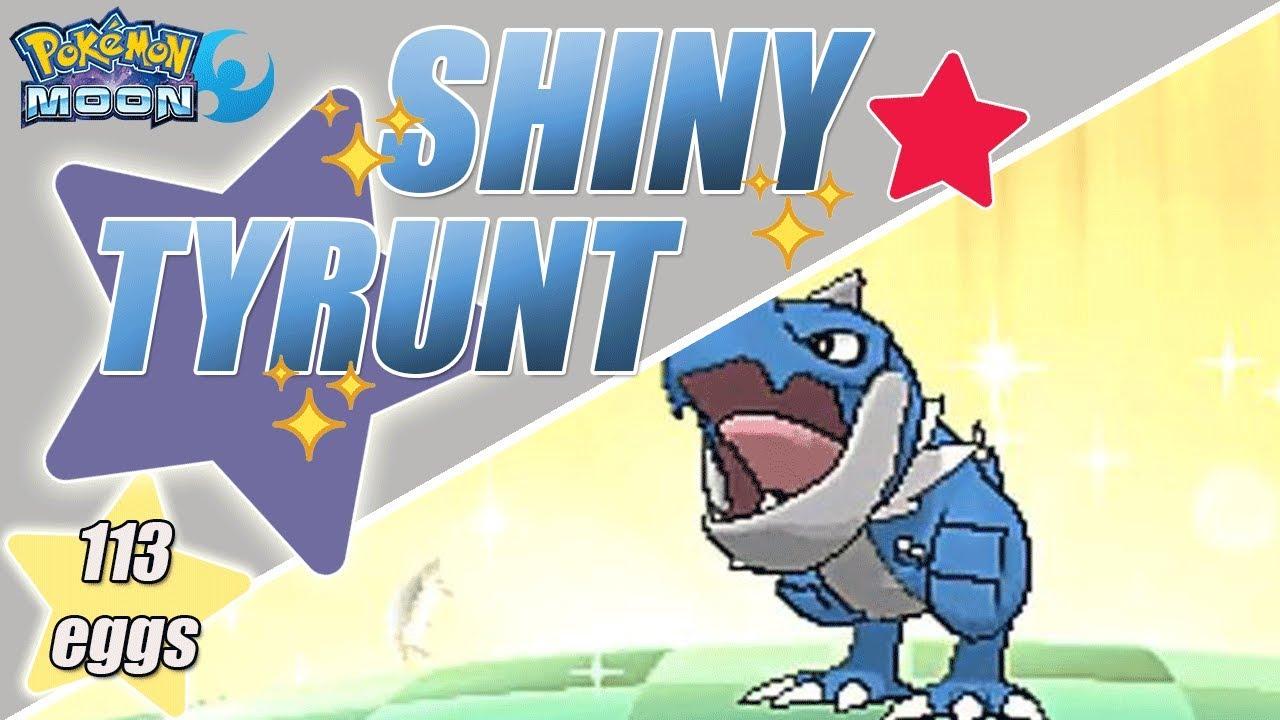 Live Shiny Hunt Tyrunt 54 By Aaronautical