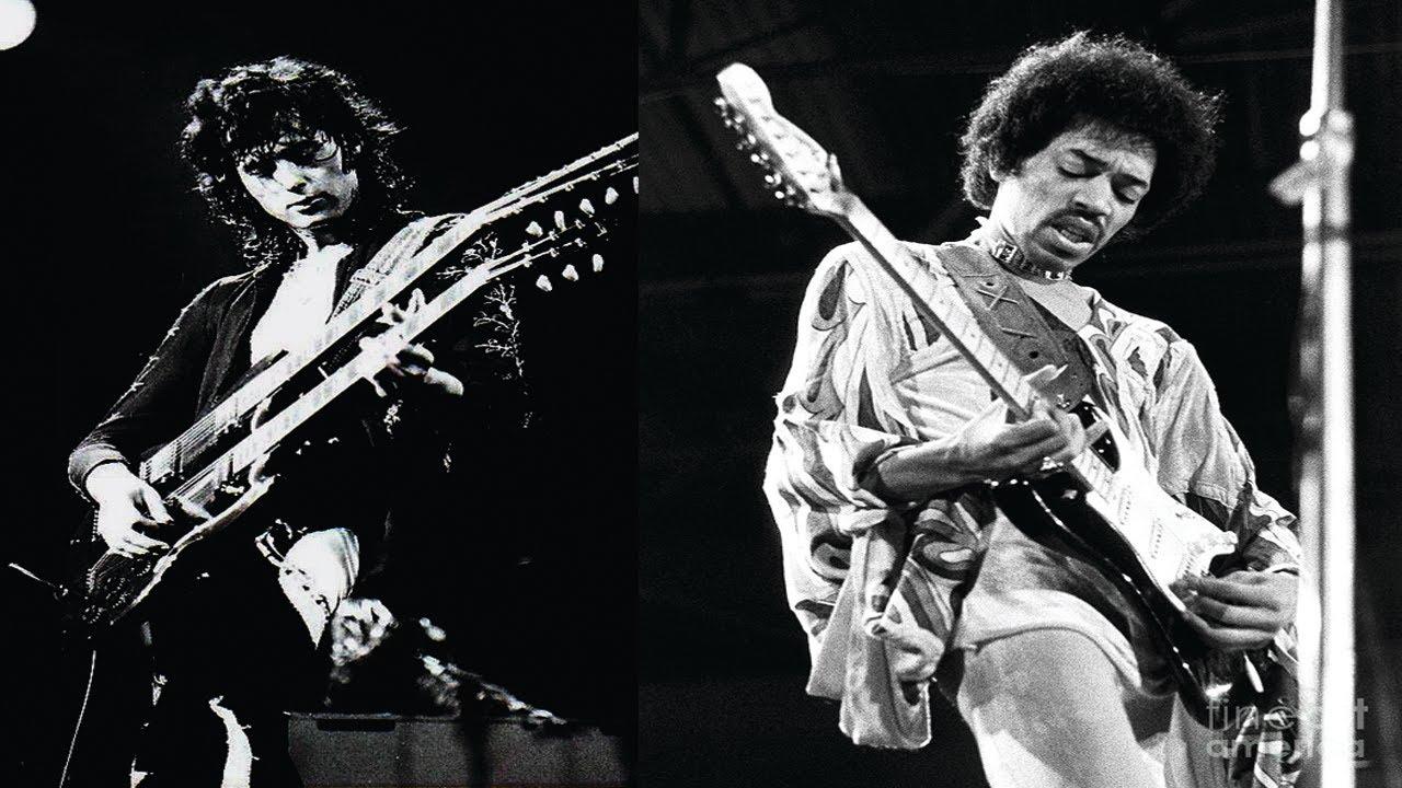 Jimmy Page Vs Jimi Hendrix
