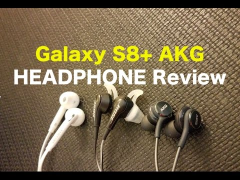 Akg S9 Plus Galaxy Note 8 S8 Headphones Vs Bose Review Comparison Samsung Youtube