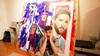 Ich bekomme das beste Messi Geschenk der WELT   ViscaBarca