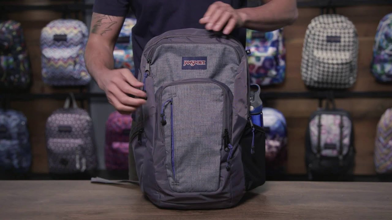 e70b65e57 JanSport Pack Review: Recruit Laptop Backpack - YouTube