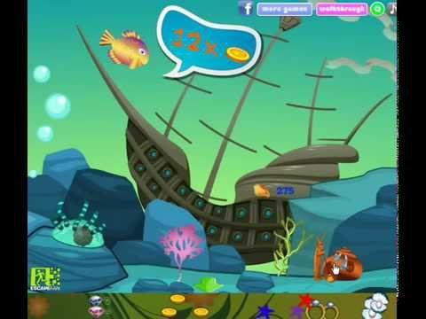 Mystical Submarine Treasure Adventure Walkthrough