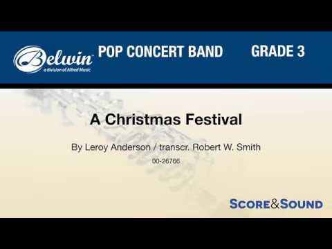 A Christmas Festival, transcr. Robert W. Smith – Score & Sound