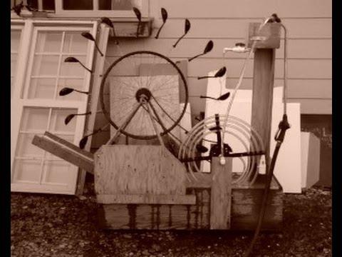 perpetual motion spiral pump water wheel youtube