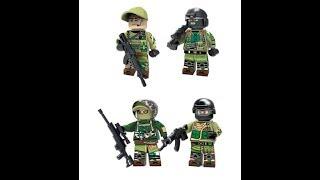 Распаковка солдатиков лего спецназ