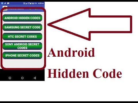 Top Hidden Tips Of Android|| Android Hidden Code|| Android Code || Hardware  Test Android||