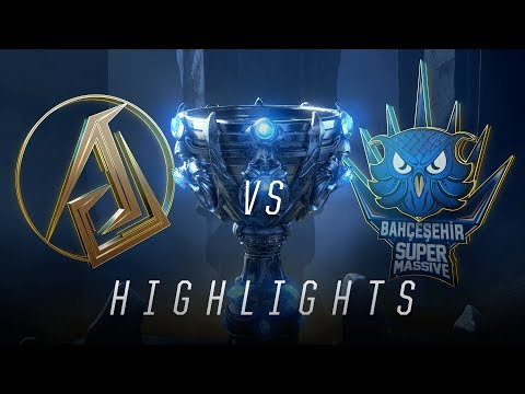 ASC vs SUP - Worlds Play In Match Highlights (2018)