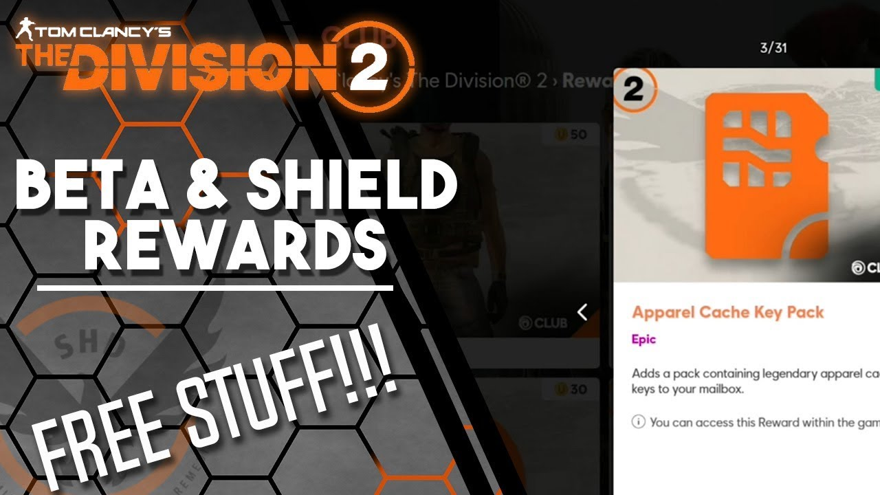 The Division 2 - How to Claim Beta Rewards, Shield Rewards and Other  Rewards - DO This First!