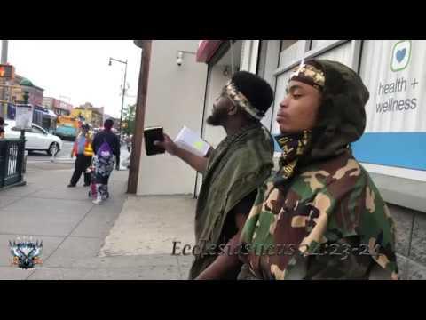 A.O.C. Israelites Yadaiya The Levitical Priest Roaring In Flatbush Brooklyn