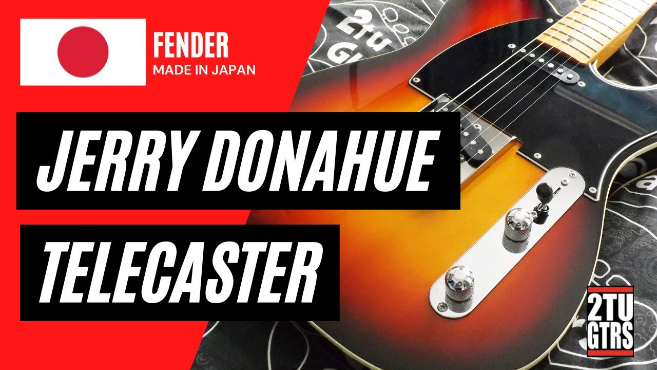 hight resolution of fender jerry donahue telecaster review demo