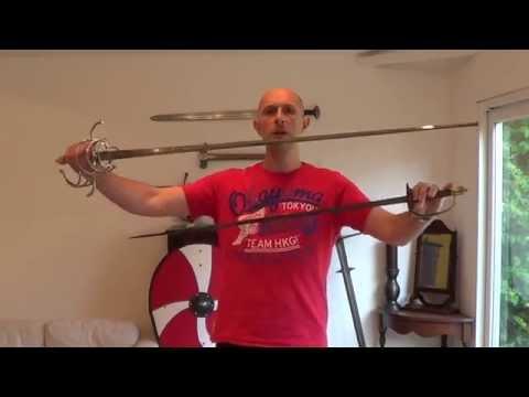 Transition from rapier to smallsword - HEMA swordsmanship