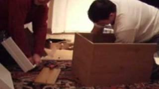 Reece & Will Build Argos Flatpack Bedside Cabinet