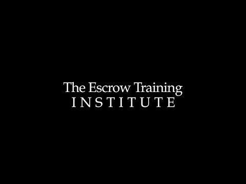 The Escrow Training Insititute