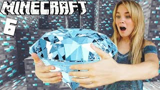 ENCONTRAMOS DIAMANTES!!! | Minecraft (6) - lele