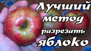 Как разрезать яблоко эффективный метод  (способ)(Как разрезать яблоко лучший способ (метод) Это очень полезный и эффективный метод того, как разрезать яблок..., 2015-05-18T13:50:40.000Z)