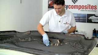 كيفية جعل ألياف الكربون سيارة غطاء محرك السيارة/غطاء محرك السيارة - الجزء 3/3
