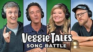 Larry the Cucumber Joins the Silly Song Battle!   with Andrew Peterson and Randall Goodgame