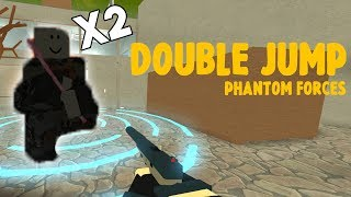 How to DOUBLE JUMP in Phantom Forces - Roblox