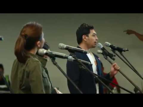 Orchestra Rehearsal, ABS CBN w Mr  C & Cast