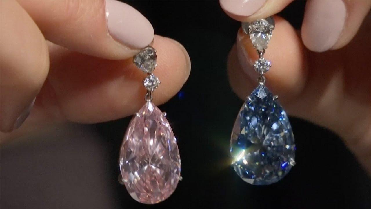 Diamond Earrings For World Record Us 57 Million