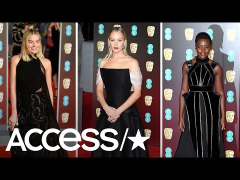 Jennifer Lawrence, Margot Robbie & More Wear Black On The 2018 BAFTAs Red Carpet  Access