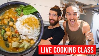 LIVE Cooking Lesson - Coconut Curry