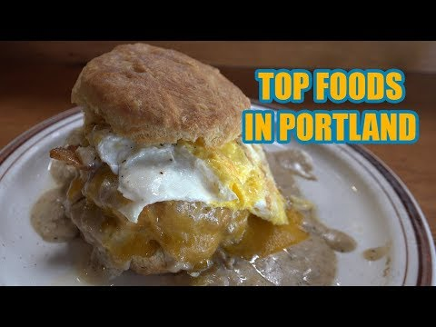 Top Places To Eat In Portland [4K] - Vacation Travel Guide - Portland Oregon