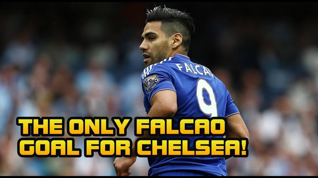 Falcao First Goal (Chelsea FC)