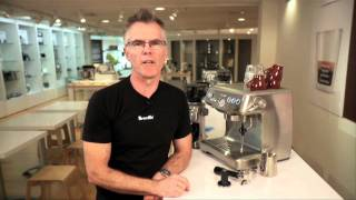 Breville -- Learn correct grinding, dosing, extraction and tamping techniques