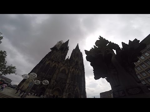 A Day in Germany at the Cologne Cathedral...
